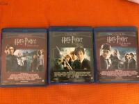Harry Potter Blu Rays