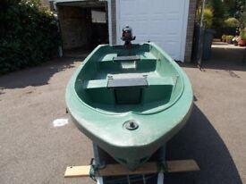 Fishing boat/yacht tender. Norwegian Pioner 12