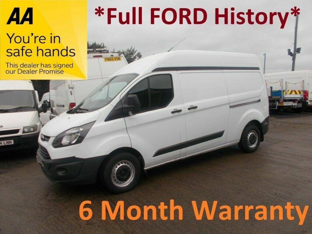 26b97e951fc53b Ford Transit Custom 2.2 TDCI 100 290 LWB H Roof   FULL FORD HISTORY   LEASE  Co DIRECT    MONTH MOT