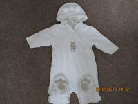 All in one / Pram suit for boys and girls 6-9 months x2
