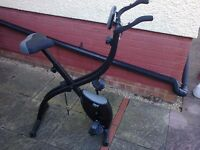 Everlast Folding Magnetic Exercise Bike. Very Good Condition.
