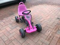 Children's pedal go-kart