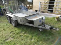 Twin Axle Plant Trailer 50ml Tow Hitch