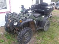 2004 Honda 400 4x4 trade for 4wd truck or suv