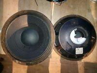 "McCauley 12 "" speakers"