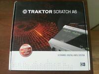 NI Traktor Audio 6 NEW quick sell