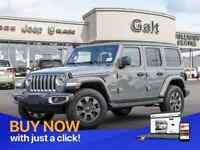 2019 Jeep Wrangler Unlimited SAHARA 4X4 | LEATHER NAV UCONNECT C Cambridge Kitchener Area Preview