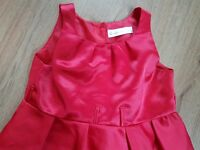 Stunning Girls Red Dress lovely for Christmas 6/7 years