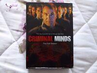 Criminal Minds DVD Season 1