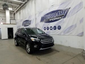 2017 Ford Escape Titanium W/ Leather, Sunroof, 4WD, Ecoboost