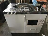 Complete kitchen unit for motorhome
