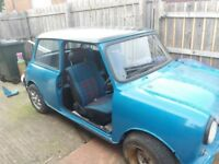 CLASSIC MINI PROJECTS FOR SALE