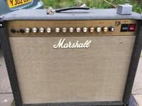 Marshall jtm60 valve amp