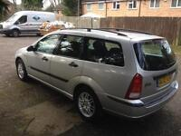 2002 1.6 Ford Focus estate long mot