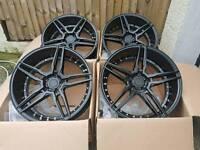 "Brand new 18"" ADV 5.0 jap fitment alloy wheels 5x114.3"