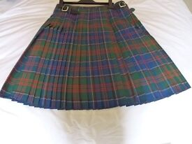 GENTLEMANS KILT, FORMAL JACKET, SHOES, SPORRAN AND ALL ACCESSORIES