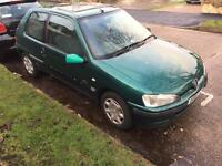 Peugeout 106 with mot 80k miles