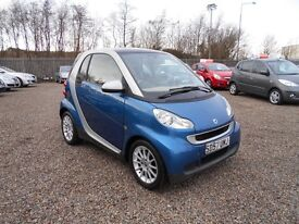 2007 Smart Fortwo 1.0 Passion 2dr 1 Year MOT / Serviced