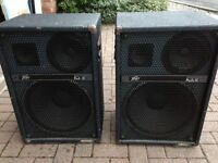 "Peavey ProSys 15 3-Way 15"" 8-Ohm 400W PA Speakers"