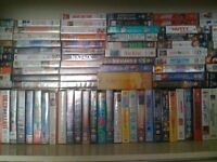 over 100 vhs tapes
