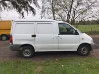 2001 51 LDV CUB NISSAN VANETTE CARGO 2.3D FULL MOT LOW 81K ONE OWNER FROM NEW DRIVES A1 PX SWAPS