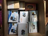 Joblot Wholesale Bulk Car CCTV DVR boxed.