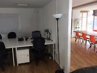 Affordable desk space in beautiful new shared office