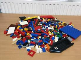 JOBLOT OVER 1 KG MIXED GENUINE LEGO PARTS PIECES BRICKS