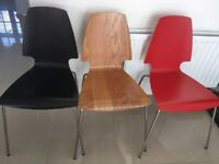 Ikea dining / kitchen chairs set of 6 excellent condition
