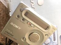Sony Walkman mini disc player
