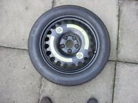 Mercedes e280 (w211model) space saver spare wheel and tyre in great condition