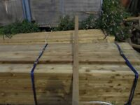 Timber fence rail 75mmx38mmx3.6m