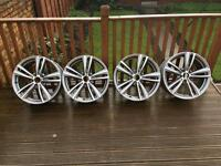 BMW 3/4series 442m 19' genuine alloys