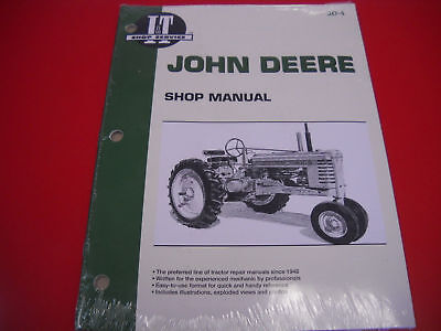 John Deere It Shop Service Overhaul Manual A B G H D Late Styled M Mt Jd4