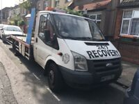 Vehicle recovery car tow breakdown recovery ,scrap car service in east london 247 tow truck service