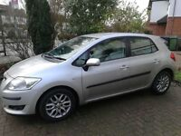 TOYOTA AURIS 2 KEYS SERVICE M.O.T NEW CLEAN OFFER LOW MILEAGE CHEAP INSURANCE