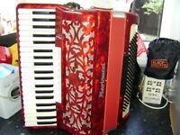 marinucci 120 bass accordion musette tuned
