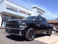 2015 Dodge Ram BLACKTOP,20'S,CREW,DUAL EXHAUST,BLUETOOTH,SPRAY I