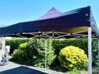 Black pop-up 3m x 3m Gazebo for sale