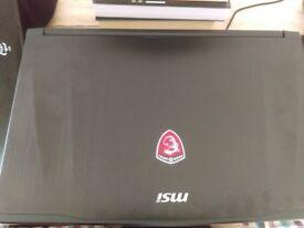 Gaming laptop MSI GE62VR 7RF Apache Pro