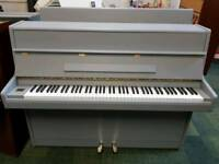 **REDUCED**THE LITTLE PIANO STORE** REID SOHN S108S MODERN UPRIGHT PAINTED IN F&B PLUMMET
