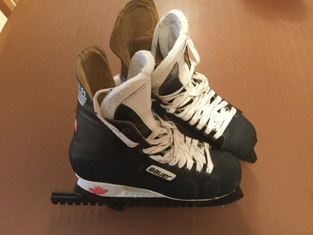 Bauer ice skate boots