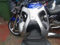 honda translap standard belly pan in silver of 2010 bike perfect condition