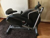 Confidence Elliptical Trainer and Excercise Bike 2 in 1