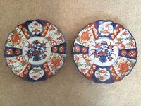 Two Small Imari Plates