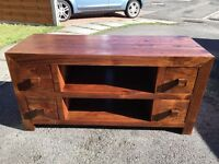 TV wood table