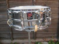 Drums - Vintage Premier 35 Snare Drum - Classic Ludwig 400 Rival
