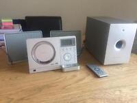 Teac slimline cd/radio/iPhone 4 dock