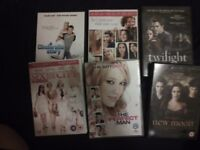 Assorted DVDs 20p each