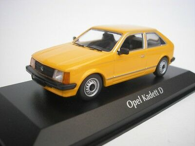 Used, Opel Kadett D 1979 Orange 1/43 maxichamps 940044101 NEW for sale  Shipping to United States